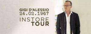 Gigi D'Alessio / 24.02.1967 Instore Tour @ Presso Ipercoop Mirabello | Cantù | Lombardia | Italia