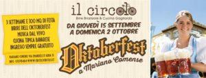 OKTOBERFEST @ IL CIRCOLO DI MARIANO COMENSE | Mariano Comense | Lombardia | Italia