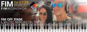 FIERA INTERNAZIONALE DELLA MUSICA 2017 FIM OFF STAGE il salotto on air @ Lariofiere - Como Lecco | Erba | Lombardia | Italia