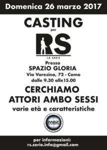 Spazio Gloria : Casting per RS - La serie targata Millennium 82 @ spazio Gloria | Como | Lombardia | Italia