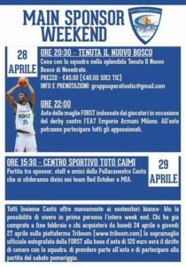"TIC : iniziativa ""MAIN SPONSOR WEEKEND"" @ Nuovo Bosco di Novedrate   Novedrate   Lombardia   Italia"
