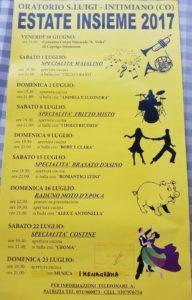 Estate Insieme 2017 @ Oratorio San Luigi | Lombardia | Italia