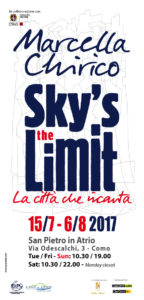 Sky's the limit. La città che incanta | Mostra dell'artista Marcella Chirico @ San pIetro in Atrio | Como | Lombardia | Italia