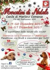 Mercatini di Natale Canile di Mariano Comense @ Canile di Mariano Comense | Lombardia | Italia