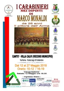 Mostra 'I Carabinieri nei dipinti di M. Monaldi' @ villa Calvi  | Cantù | Lombardia | Italia