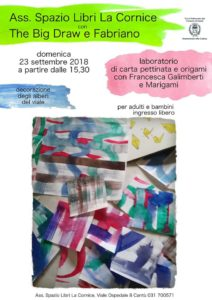 The big draw 2018: il viale degli origami @ Spazio Libri La Cornice | Cantù | Lombardia | Italia