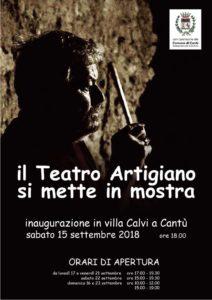 Il Teatro Artigiano si mette in mostra @ Villa Calci | Cantù | Lombardia | Italia