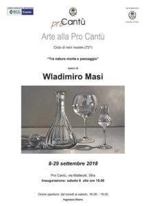 Arte alla Pro Cantù | Tra natura e Paesaggio - Wladimiro Masi @ Pro Cantù | Cantù | Lombardia | Italia