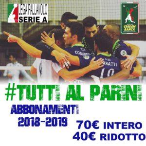 Volley A2 maschile: Pool Libertas Cantù - Olimpia Bergamo @ Palasport Parini | Cantù | Lombardia | Italia