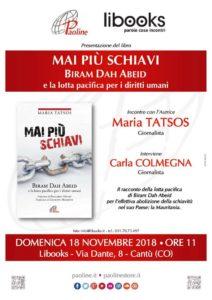 Presentazione Mai più schiavi a Cantù @ Libooks | Cantù | Lombardia | Italia