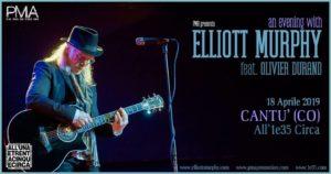 Elliott Murphy feat. Olivier Durand | Cantù, All'1e35 Circa @ All'unaetrentacinquecirca | Cantù | Lombardia | Italia