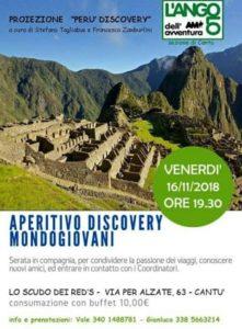 Aperitivo Discovery Mondogiovani @ Lo scudo dei Reds | Cantù | Lombardia | Italia