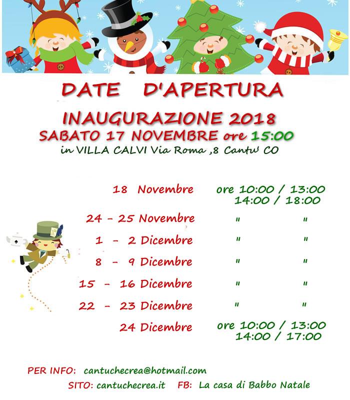 Babbo Natale 8 Dicembre Roma.Alice E Il Magico Natale La Casa Di Babbo Natale Cantu Cantu For You