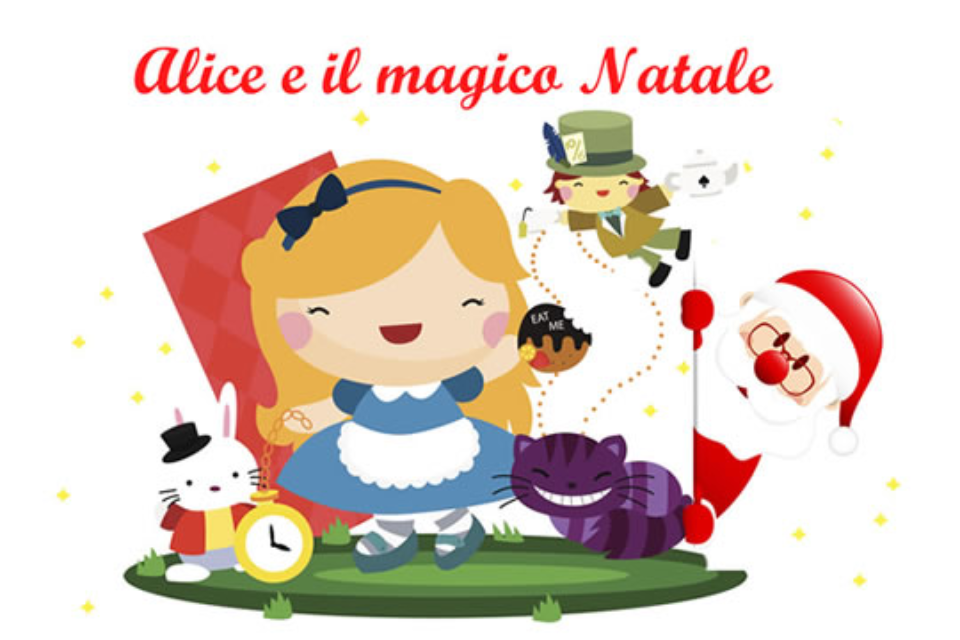 Alice e il magico Natale | La Casa di Babbo Natale Cantù