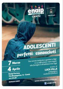 Adolescenti perfetti sconosciuti @ Enaip Cantù