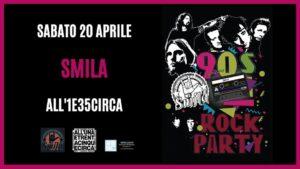 Smila: 90s Rock Party (Unplugged) at 1e35circa @ All'unaetrentacinquecirca | Cantù | Lombardia | Italia