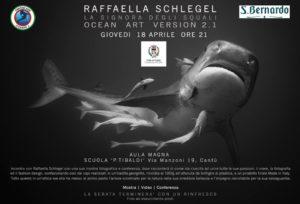 Raffaella Schlegel La Signora degli squali @ Scuola Media Tibaldi Cantù