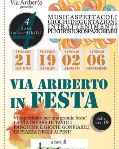 Cantù Estate 2019 | Via Ariberto e Viale alla Madonna in Festa @ Cantù Centro | Cantù | Lombardia | Italia