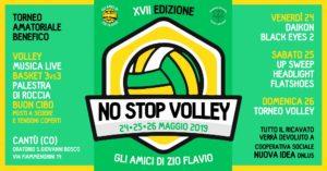 NO STOP Volley - XVII edizione - 24/25/26 Maggio @ Oratorio S.Giovanni Bosco