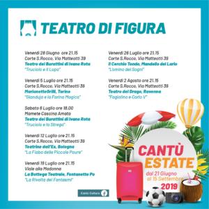 Cantù Estate 2019   La Bottega Teatrale @ Viale alla Madonna   Cantù   Lombardia   Italia