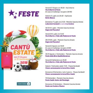 Cantù Estate 2019 | Sagra dei Pescatori @ Mamete Parco inclusivo | Cantù | Lombardia | Italia