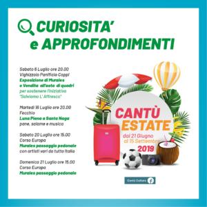 Cantù Estate 2019   Murales passaggio pedonale @ Corso Europa   Cantù   Lombardia   Italia