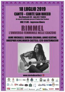Cantù Estate 2019 | Storie di Cortile 1 - Rimmel. L'universo femminile nelle Canzoni @ Corte San Rocco | Cantù | Lombardia | Italia
