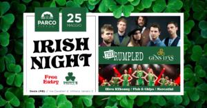 Parco TITTONI : Irish Night – Paddy's La Festa Irlandese @ Parco Tittoni