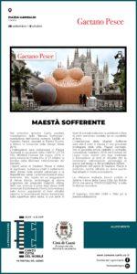 Festival del Legno/Mostre: Maestà Sofferente Gaetano Pesce @ Piazza Garibaldi
