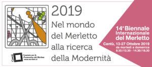 14ª BIENNALE INTERNAZIONALE DEL MERLETTO | Microcosmo 2019 @ Villa Calvi | Cantù | Lombardia | Italia