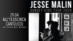 Jesse Malin - Live at All'1e35Circa @ All'UnaeTrentacinqueCirca