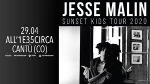 Jesse Malin - Live @ All'unaetrentacinquecirca | Cantù | Lombardia | Italia