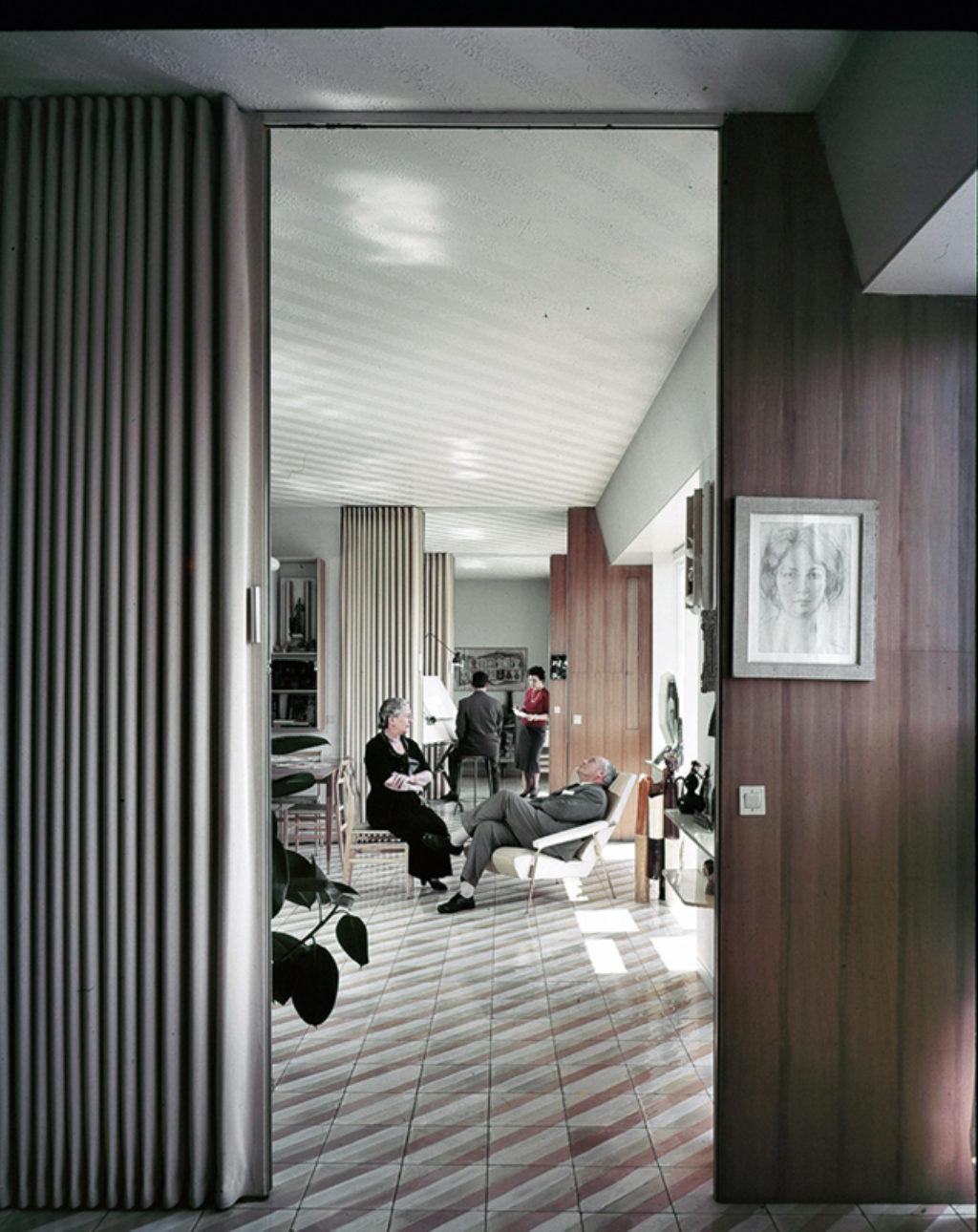 Gio Ponti House Via Dezza Milano_Gio Giulia Letizia and Giulio Ponti_LR