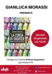 """Gianluca Morassi presenta """"La corsa di Shorter"""" @ Libreria Ubik-Como"""
