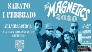 THE MAGNETICS Live ALL'1e35circa-Arci Cantu' @ All'UnaeTrentacinqueCirca