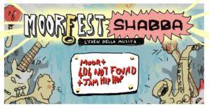 MOORfest - l'Eden della musica - Free funky/blues & hip hop jam @ Shabba Club