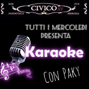 Karaoke Con Pakisong @ Civico XV Como