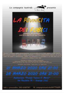 """La rivincita dei fobici @ auditorium """"piccolo teatro santa Maria """""""