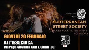 Subterannean Street Society@1e35circa @ All'UnaeTrentacinqueCirca