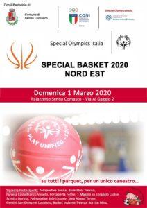 "Tappa campionato Special Basket Nord Est 2020 @ Palasport ""Vitale Broggi"" - Senna Comasco (CO)"