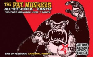 Carnevale con i Monkees @ All'UnaeTrentacinqueCirca