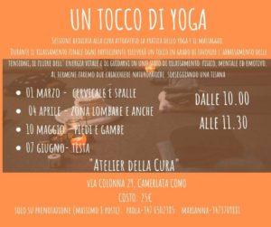 Un Tocco Di Yoga @ Atelier della Cura