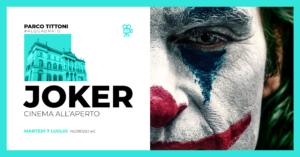 Parco Tittoni : Cinema all'aperto - Joker @ Parco Tittoni